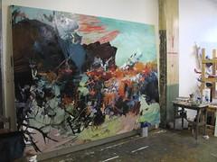 Studio visit: Rebecca Saylor Sack (Wed. 4.18.07)