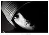 A L A s ,, (Nasser Bouhadoud) Tags: portrait bw white black eye home canon 350d alas fahad nasser doha qatar saher ناصر فهد allil القحطاني بوحدود
