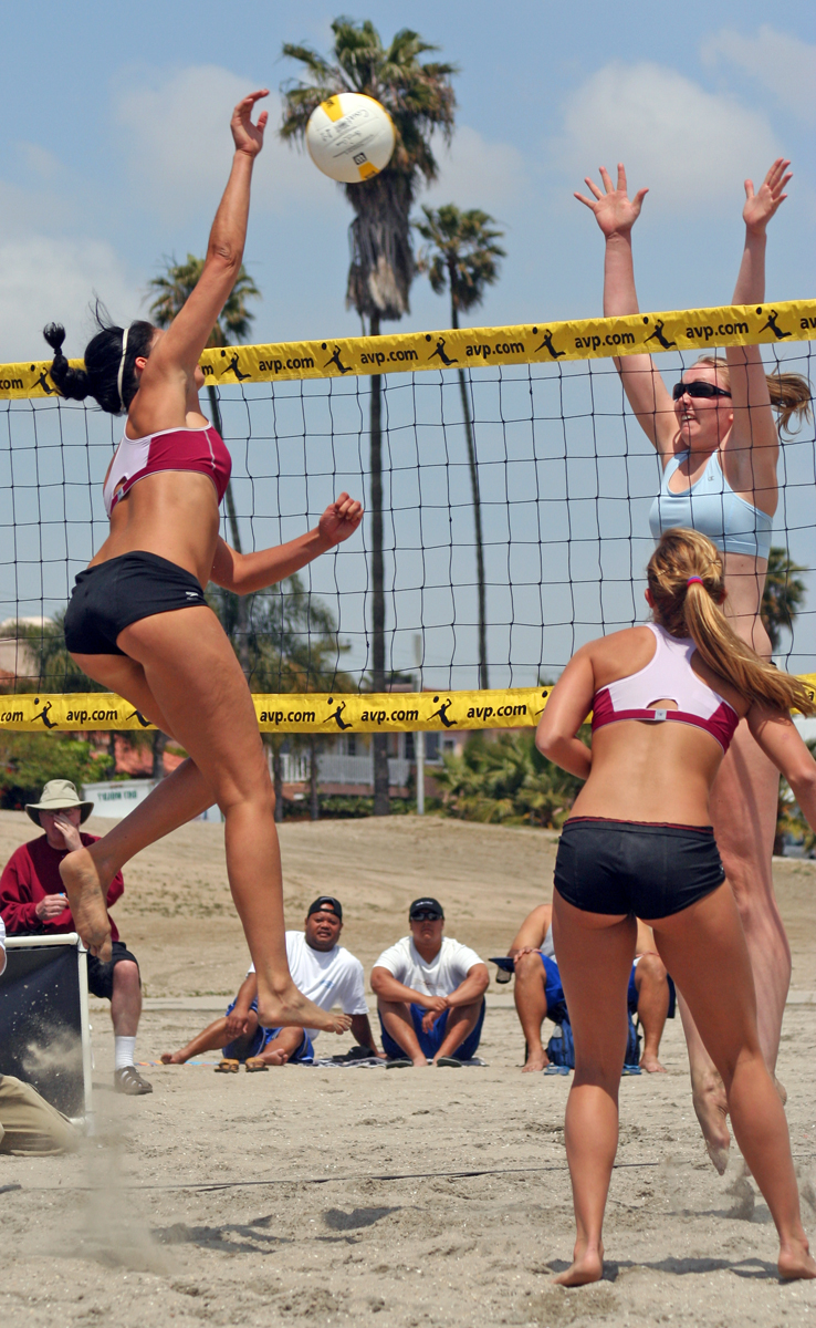 Beach erotic picture volleyball