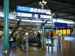 Nederlandse Spoorwegen gate, Schiphol airport