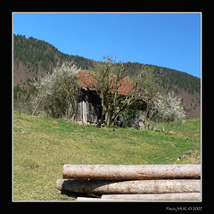 Little Old Shack (Paco_MUC) Tags: germany bayern deutschland bavaria walchensee gebirge voralpen pacomuc