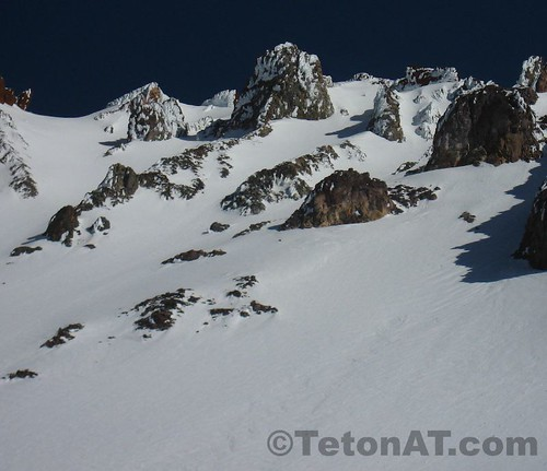 The Trinity Chutes on Mt Shasta