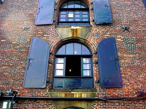 Factory Iron Shuttered Windows