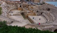 Amfiteatre de Tàrraco: vista general (Sebastià Giralt) Tags: architecture arquitectura roman romano amphitheater urbanism tarragona anfiteatro urbanisme tarraco romà amfiteatre