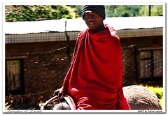 Traditional Outfit (ntrung) Tags: africa portrait 20d canon outfit traditional 2007 thebigone 1on1peoplephotooftheday 1on1peoplephotoofthedaymay2007 losotho