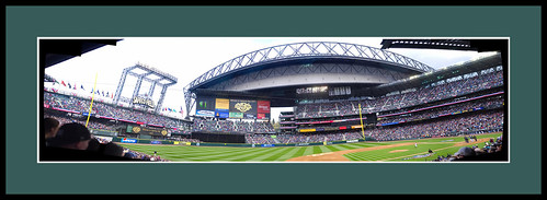 Safeco Field, Opening Day Panorama Composite