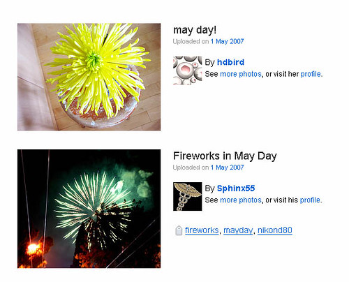 May Day coincidence