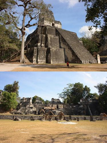 Tikal Main Acropolis