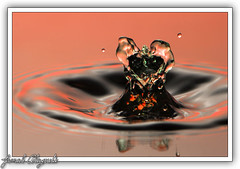 Victoria's Secret (Jamal Alayoubi) Tags: pink macro green water nikon secret victoria drop kuwait d200 nikkor liquid jamal refliction 105mm abigfave alayoubi