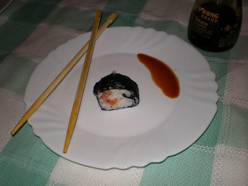 Sushi... más o menos