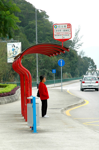 59 Bus stop in Taipa
