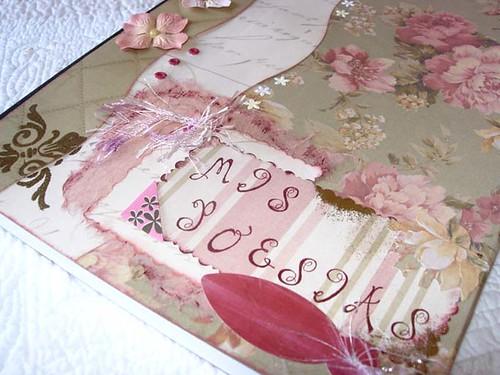 Cuaderno de poesía .Detalle