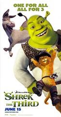 Nuevos pósters, nuevo trailer y reveladoras imágenes de 'Shrek tercero'