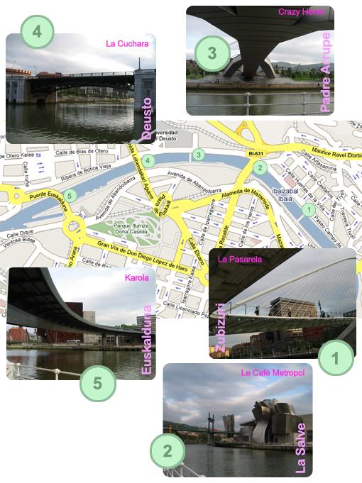 Ruta de los 5 puentes