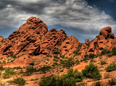 Papago Park (Videoal) Tags: arizona photoshop hdr tempe photomatix papagomtn