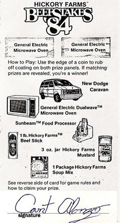 Beefstakes '84