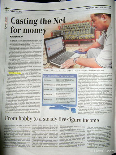 NST Interview: Casting the Net for money