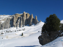 Sella Towers, Dolomites (mausboam) Tags: italy skiing sellamassif photo:ref=16912