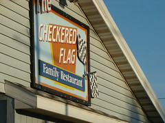 The Checkered Flag Milton PA (Neubie) Tags: road trip logo diner roadtrip pa milton checkeredflag nylouisianaomahanyroadtrip miltonpa