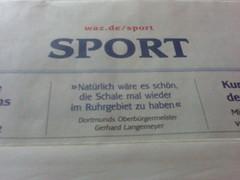 Zitat des Dortmunder OBs Gerhard Langemeyer (aus der WAZ)