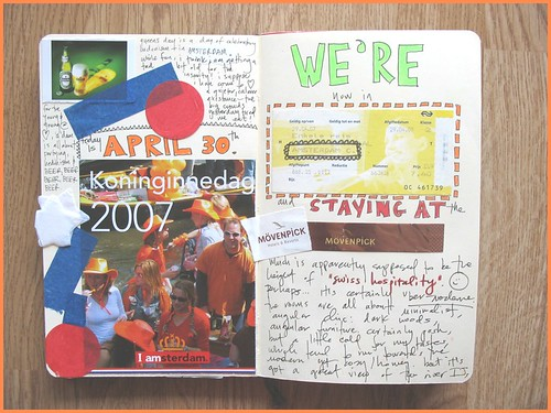 travel journal page three