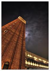 Venezia - Campanile (dominikfoto) Tags: venice italy night nikon italia campanile d200 venise venezia hdr italie sanmarco hdri dominik fusina 5xp dominikfusina