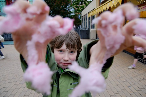 Candy Floss Zombie Attack