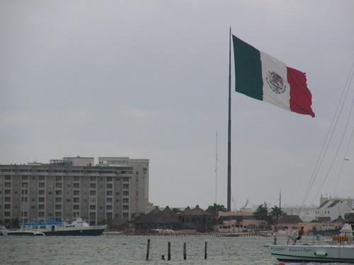A HUGE flag