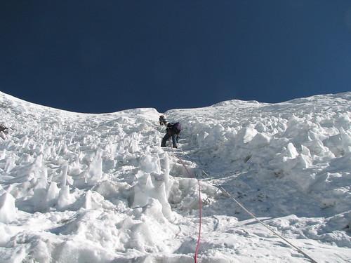 nepal ice trek geotagged peak rope climbing alpine mountaineering summit guide headwall islandpeak solukhumbu sagamartha geo:lat=2792052610906926 geo:lon=8693503490426679