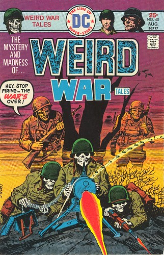Weird War Tales No. 40 by FromConcentrate.