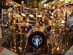 Neil Peart's Drum Kit in Pittsburgh (LerxstKing) Tags: alex drums neil lee rush dw geddy sabian peart lifeson lerxst