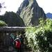 After exiting Machu Picchu