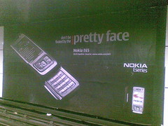 Nokia E65 billboard