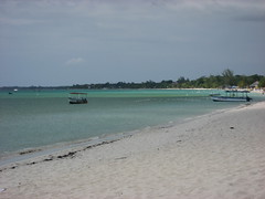 7-mile Beach, Negril Jamaica (Laura Dunn-Mark) Tags: ocean travel sea vacation west beach water boats boat sand scenic jamaica caribbean negril 2007 indies westindies 7milebeach lauradunnmark