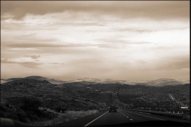 Badger Springs Road, Arizona