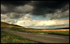 Dark Sky (andrewlee1967) Tags: road moors clouds windfarm darksky yorkshire andrewlee1967 uk tribehorizon bravo diamondclassphotographer canon400d england landscape focusman5 andrewlee