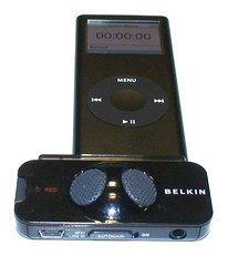 8 Gb 2g Apple Nano with Belkin Tune Talk