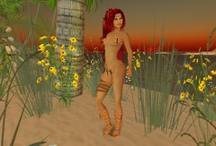 Jungle Girl (dorradebs) Tags: life fashion debs model secondlife jungle second borabora dorra lindenlifestyles dorradebs 5ilike