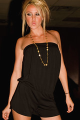 SIX Nightclub in Scottsdale, AZ, runway fashio...
