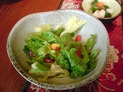 [吃] 和民居食屋 (7)_生菜沙拉 (07.05)