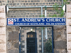 Church of Scotland sign_0825