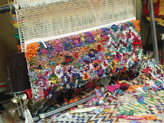 Rag Rug: the end (Luciano Ghersi) Tags: bicycle carpet rug handloom handweaving tappeto telaio tessitura lucianoghersi