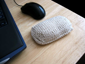 Wrist pad...  dont really use one myself, but kind of cool!