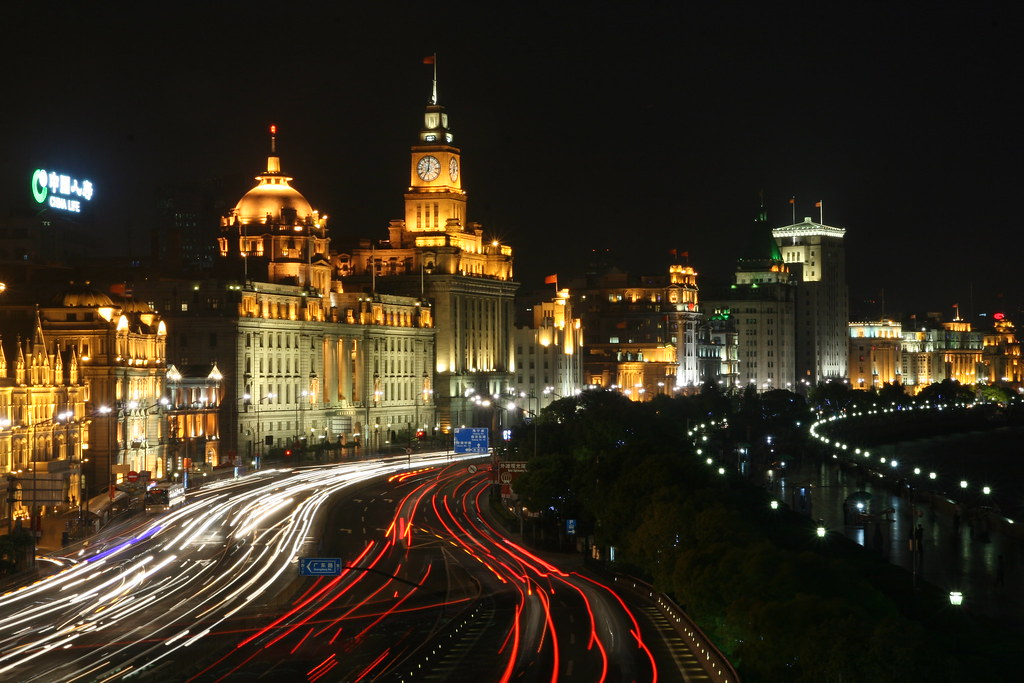 The Bund, Shanghai by SF Brit, on Flickr