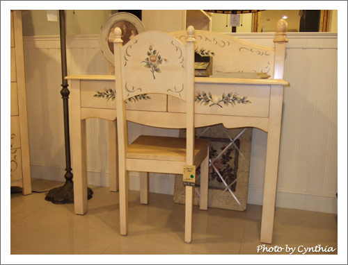 艾莉傢俬-美麗的書桌椅