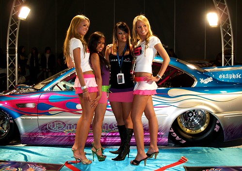 Models At Autosalon Melbourne