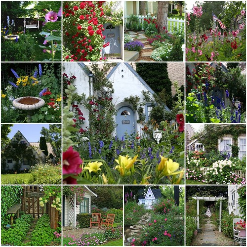 Beautiful Cottage Gardens