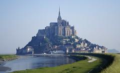 Mont St Michel, Postcard Shot