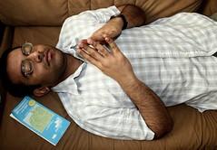 Vikram (joaobambu) Tags: portrait man berlin 20d vikram canon map indian human ddr meditation hombre mensch indisch friedenau