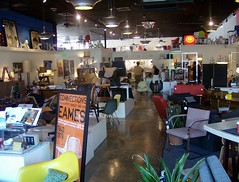 Shot of Front Area at Mod Livin' - Eames Opening Night (JoeInSouthernCA) Tags: eames modlivin
